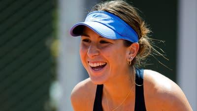 Traumtag und Traumstart in die French Open für Belinda Bencic. (Rob Prange/Freshfocus / Zuma/AFP7)