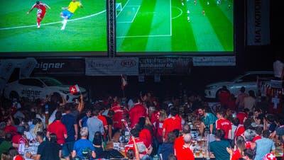 Im Sommer 2018 konnte man die WM-Spiele in diversen Public Viewings verfolgen. Lokalitäten wie etwa dieBodenseearena in Kreuzlingen lockten zahlreiche Zuschauer an. (Archivbild: Andrea Stalder)
