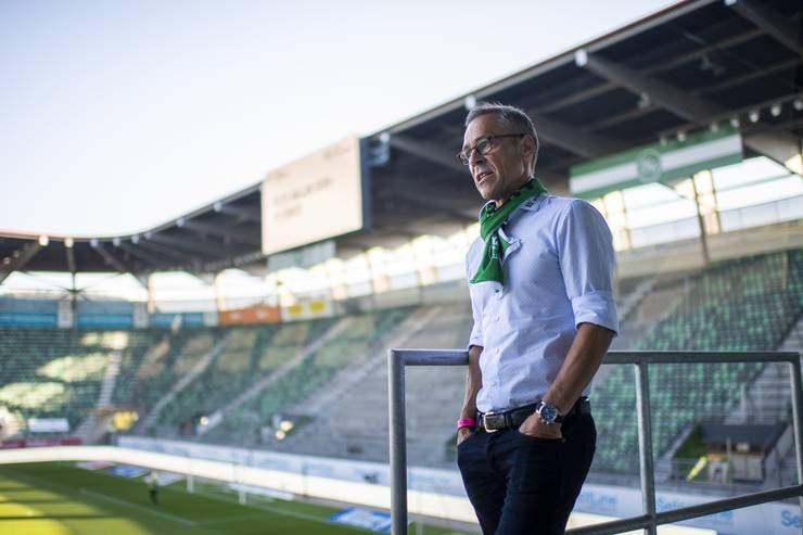 2017 wurde Fussball-Moderator Matthias Hüppi Präsident des FC St. Gallen.