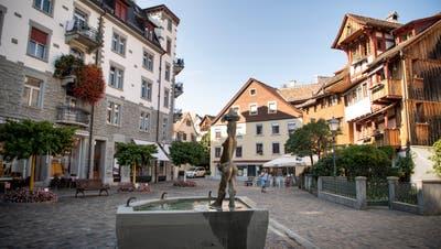 Der Fischmarktplatz in der Altstadt. (Bild: Ralph Ribi)