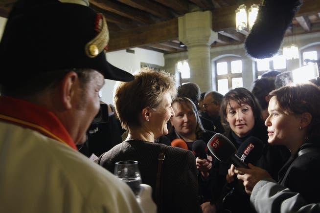 2010 wurde die Berner SP-Ständerätin in den Bundesrat gewählt. Zuerst musste Sommaruga das Justizdepartement übernehmen.