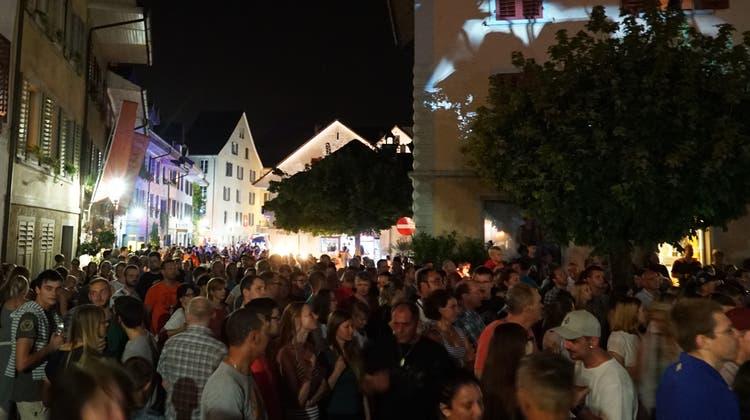 Das Gassenfest in Mellingen im Jahr 2016. (Zvg)