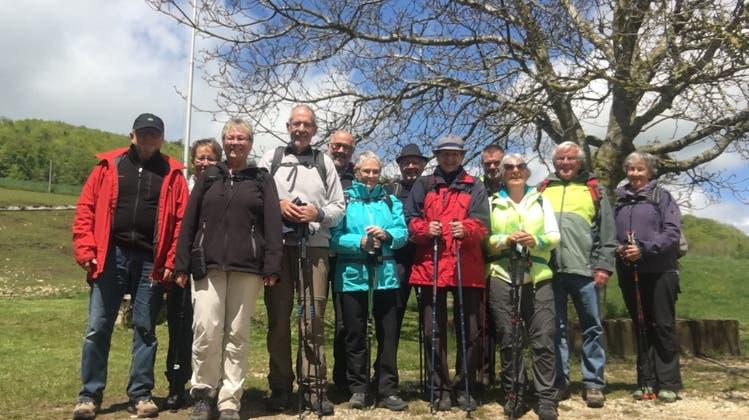 Mai-Wanderung der Wandergruppe Villigen