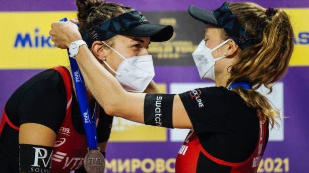 Das Duo Betschart/Hüberli beeindruckt in Russland