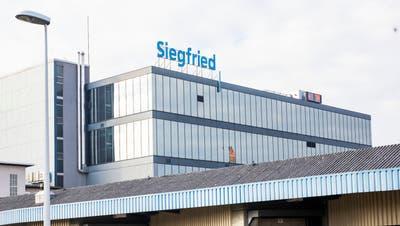 Der Chemiekonzern Siegfried in Zofingen. (Britta Gut)