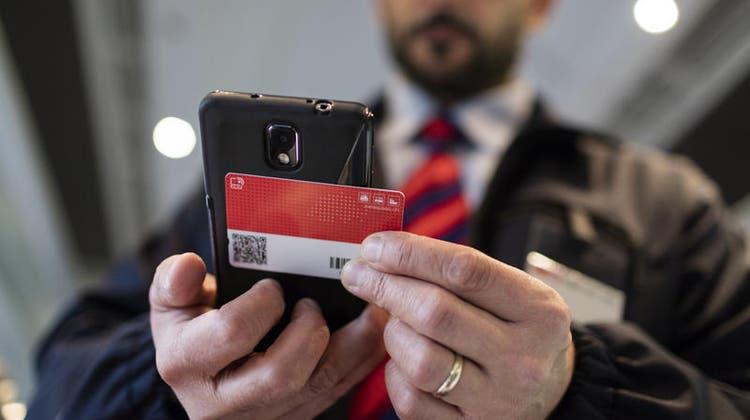 Trotz Rekordverlusten: Die Abonnementeauf dem SwissPass werden vorderhand nicht teurer. (Symbolbild) (Keystone)