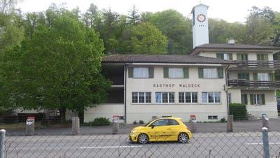 Der ehemalige Gasthof Waldeck in Muhen soll jetzt als Bistro zwischengenutzt werden. (Flurina Dünki / Aargauer Zeitung)