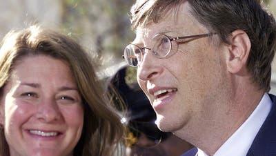 Bill und Melinda Gates lassen sich scheiden. (Keystone)