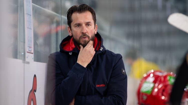 Sie jubeln nächste Saison unter einem neuen Trainer: Garry Nunn (l.) und Stan Horansky. (Marc Schumacher / freshfocus)