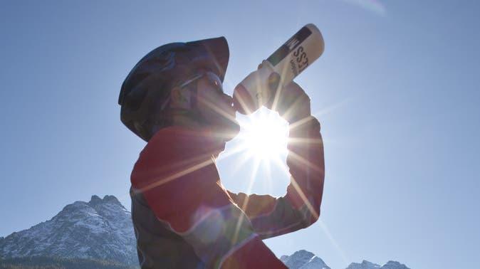 Wenn Sportler zu Nahrungsergänzungsmittel greifen, gehen sie ein beträchtliches Risiko ein. (Keystone)