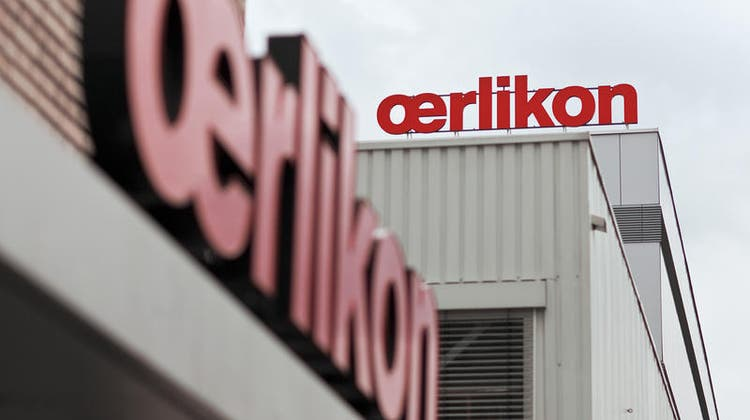 Konnte rund einen Drittel mehr Bestellungen verbuchen als im Vorjahresquartal: Industriekonzern Oerlikon. (Archivbild) (Keystone)