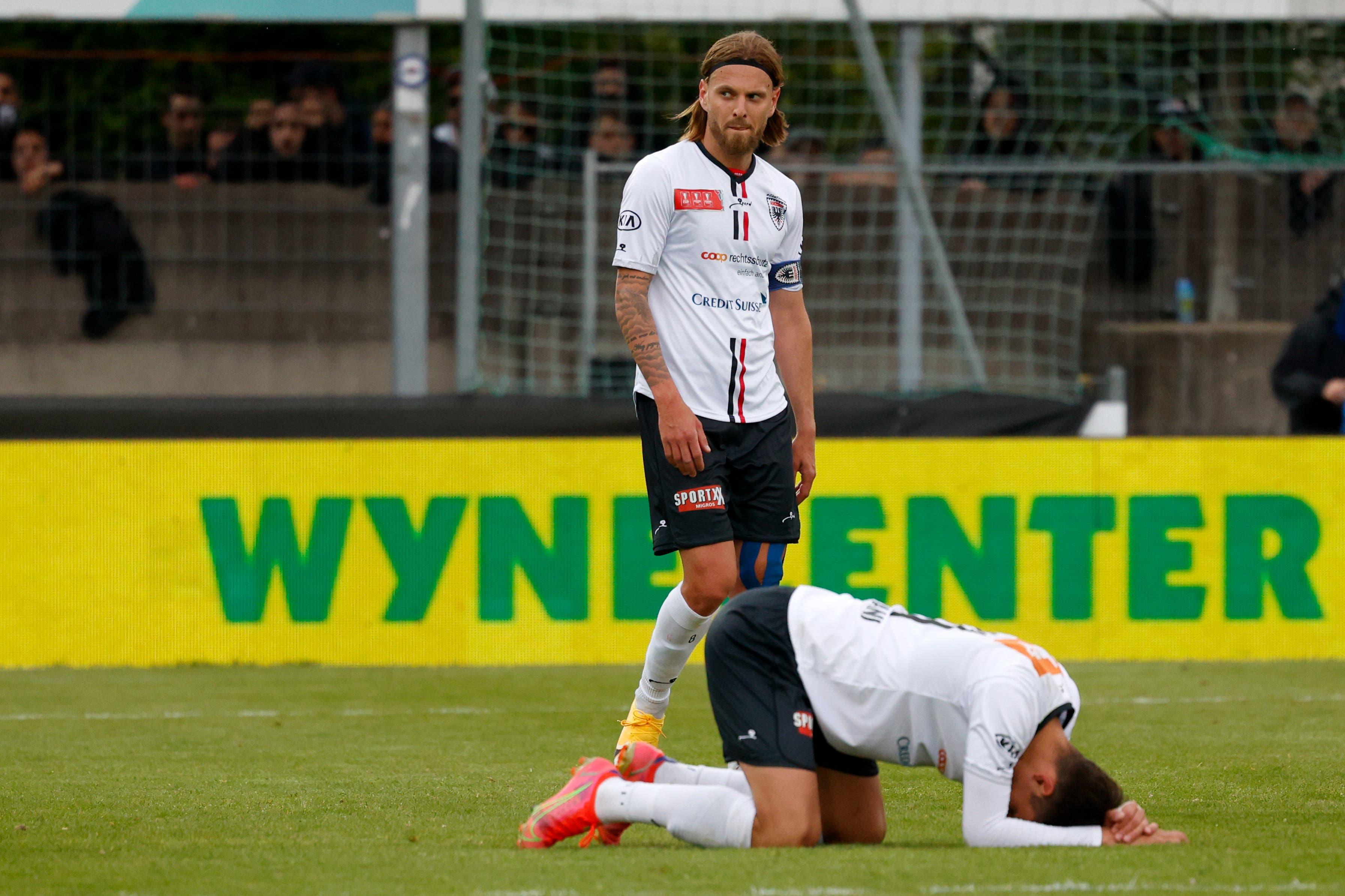 Der FC Aarau muss sich gegen den FC Luzern im Halbfinal geschlagen geben.
