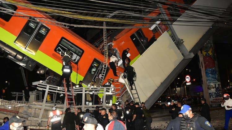 Bei dem Unglück soll es mindestens 20 Tote gegeben haben. (Keystone)