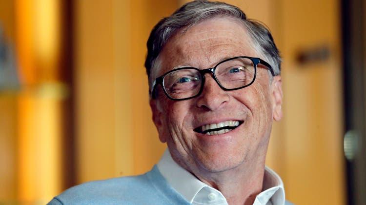Schwerreich und unbeliebt: Microsoft-Gründer Bill Gates. (AP)