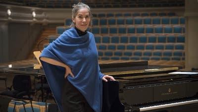 Simone Keller, hier in der Tonhalle St. Gallen. (Bild: pd)