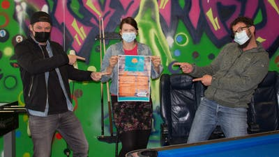 Die MutschellerJugendarbeiter (von links): Marcel Lepper, Bettina Pudelko und Jonathan Blickenstorfer (von links). (Verena Schmidtke)