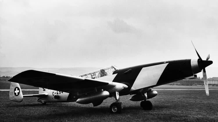 Die Armee versteigerte vor über 30 Jahren 20 Flugzeuge des Typs C-3605. (Keystone)