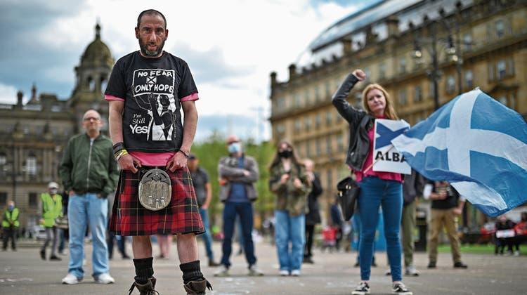 Raus aus dem Königreich? Heute könnten die Schotten den Grundstein für den «Scexit» legen