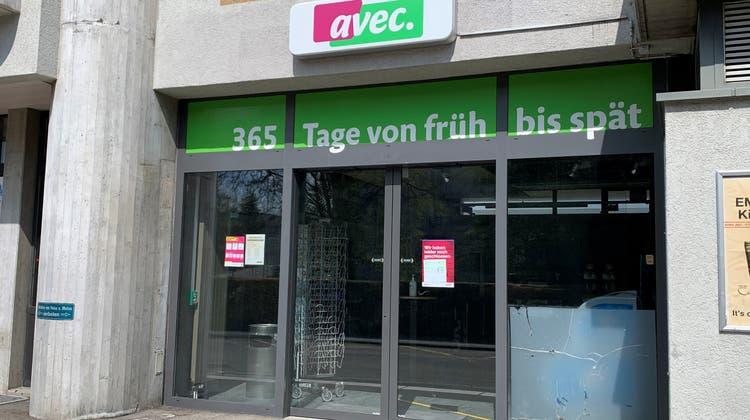 Der «Avec»-Shop am Bahnhof Muri ist seit dem 6. Juli 2020 geschlossen. (Pascal Bruhin)