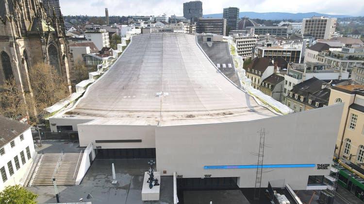 Energetisch saniert mit 10 Millionen Franken: das Theater Basel. (Benjamin Wieland / Bwi / bz Zeitung für die Region)