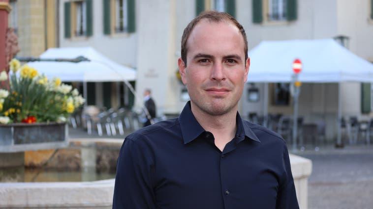 David Holliger (Die Mitte) aus Lenzburg kandidiert als Gerichtspräsident für das Bezirksgericht Zofingen. (Peter Weingartner)