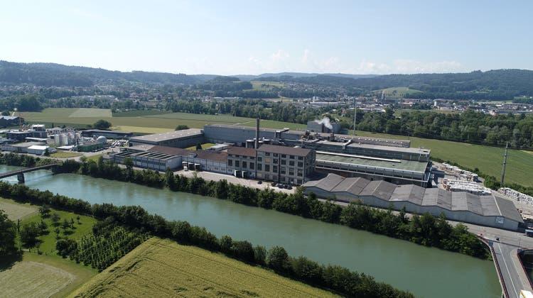 Die Model AG in Niedergösgen bestätigte an der Generalversammlung des ZAS ihre Ausbaupläne. (Bruno Kissling (Archiv))
