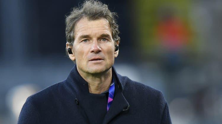 Jens Lehmann verschickte eine zweifelhafte Nachricht per Handy und wurde als Aufsichtsrat bei Hertha BSC per sofort entlassen. (AP)