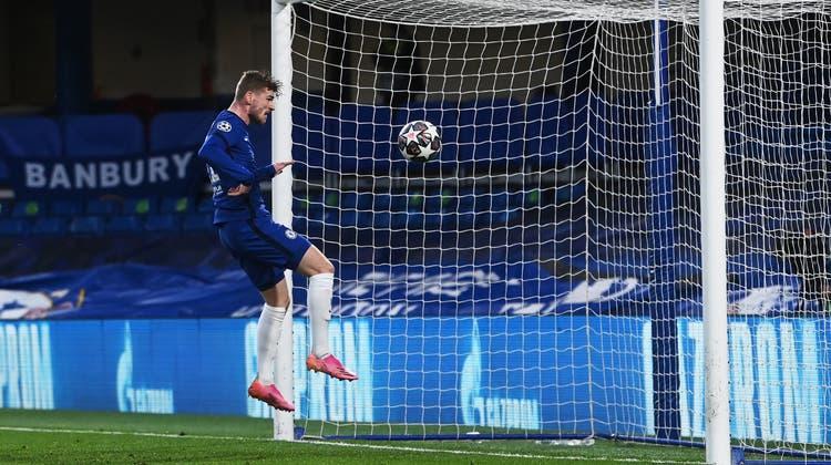 Timo Werner köpfelte für Chelsea zum 1:0 (Neil Hall / EPA)