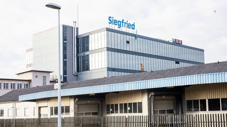Bild des Firmengebäude von Siegfried in Zofingen. (Britta Gut)