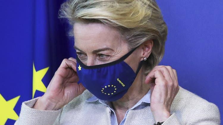 «Die EU ist der offenste Markt der Welt. Aber Offenheit muss mit Fairness zusammengehen», hält EU-Kommissionspräsidentin Ursula von der Leyen zum Thema fest. (Yves Herman (EPA))