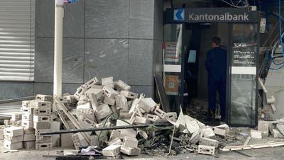 Bancomat-Sprengung: Täter haben – wenn überhaupt – höchstens 10'000 Franken erbeutet
