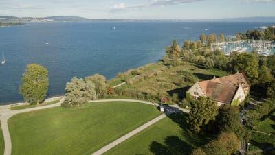 Am Ufer beim Seemuseum Kreuzlingen ist der Steg geplant. (Bild: PD / Nina Kohler)