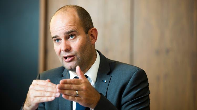 Regierungsrat und Baudirektor Fabian Peter. (Bild: Dominik Wunderli (Luzern, 10. Juni 2020))