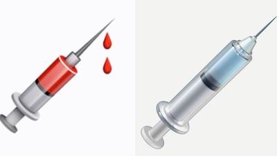 Den Umständen geschuldet haben Pandemie-Symbole momentan Hochkonjunktur. Hier das neue Impf-Symbol von Apple. (Bild: Apple, Imago)
