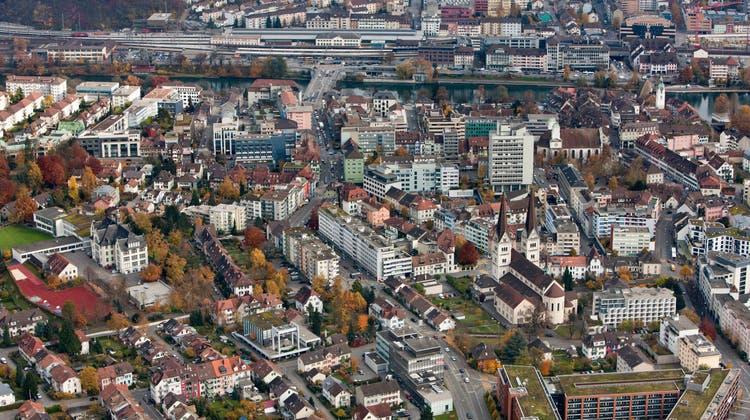 Die Schweizer Städte und Gemeinden – im Bild Olten – spüren die Coronakrise im Portemonnaie. (Symbolbild) (Keystone)