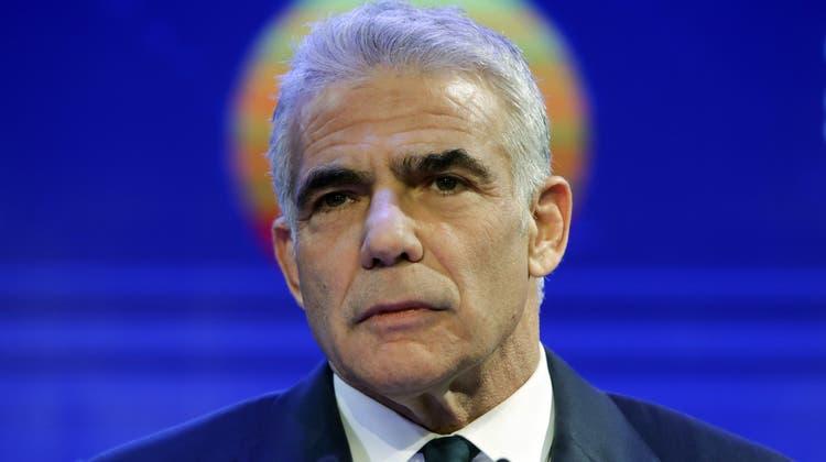 Ex-Moderator und Amateurboxer: Yair Lapid könnte Israels politische Zukunft prägen. (AP)