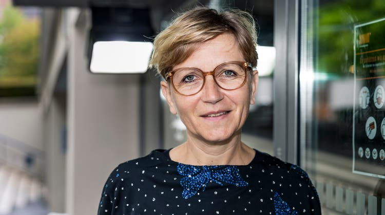 Porträt Filmemacherin Johanna Faust, beim Kultkino Basel. (Kenneth Nars)