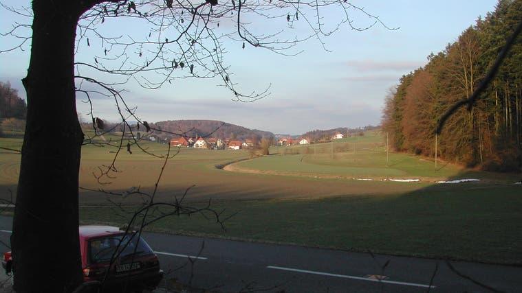 Das Räumliche Leitbild von Buchegg wurde von der Gemeindeversammlung genehmigt. Hier ein Blick auf den Dorfteil Bibern. (ak)