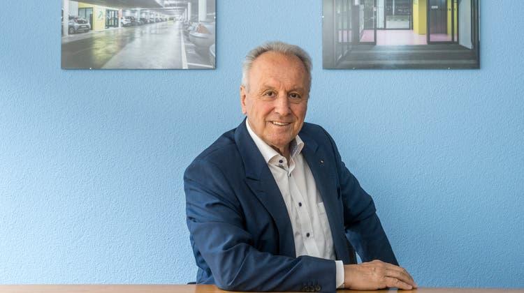 Elmar M. Jud ist der Initiant und Motor des Wachstums der City Parking St.Gallen AG. Mit seinem Rücktritt an der GV vom 14. Juni geht eine Ära zu Ende. (Bild: Arthur Gamsa (6.5.2021))