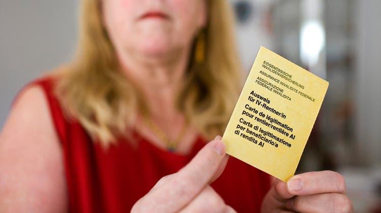 Wie viel Geld geben die IV-Stellen für Renten aus? Das unterscheidet sich von Kanton zu Kanton. (KEYSTONE)