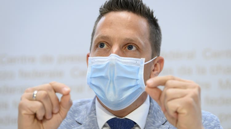 Der Solothurner SVP-Präsident Christian Imark engagiert sich auf allen Ebenen gegen das CO2-Gesetz. (Anthony Anex / KEYSTONE)