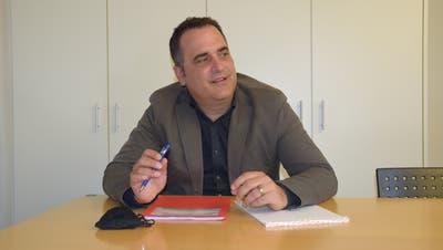 Marc Ledergerber, Präsident des Findungskomitees, will idealerweise zwei Personen für die Wahl vorschlagen. (Bild: Lara Wüest)
