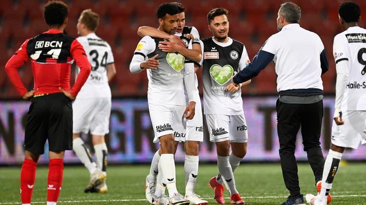 Alex Frei und der FC Wil bleiben auf Platz 7 der Challenge League. (Bild: Andy Mueller, Freshfocus)