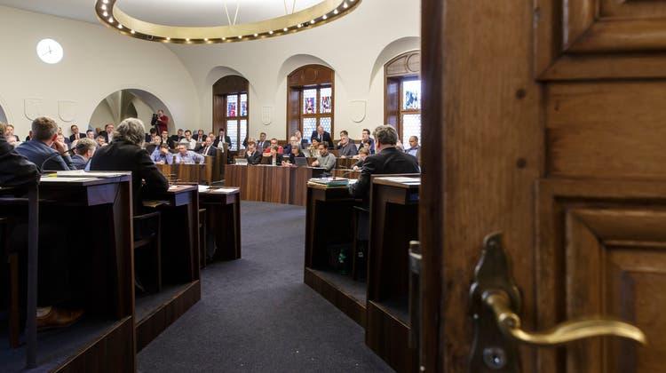 Blick in den Solothurner Kantonsratssaal: Die neue Legislatur beginnt aber – wegen der Pandemie – im Tissot Velodrome Grenchen. (Hanspeter Bärtschi)