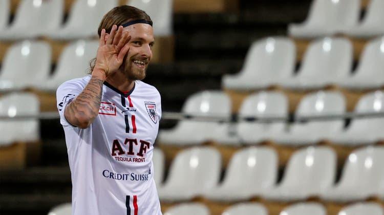 Sehen wir in dieser Saison den besten Olivier Jäckle aller Zeiten? «Ja», sagt er und fügt an: «Es geht noch mehr» (Foto: Marc Schumacher / freshfocus)