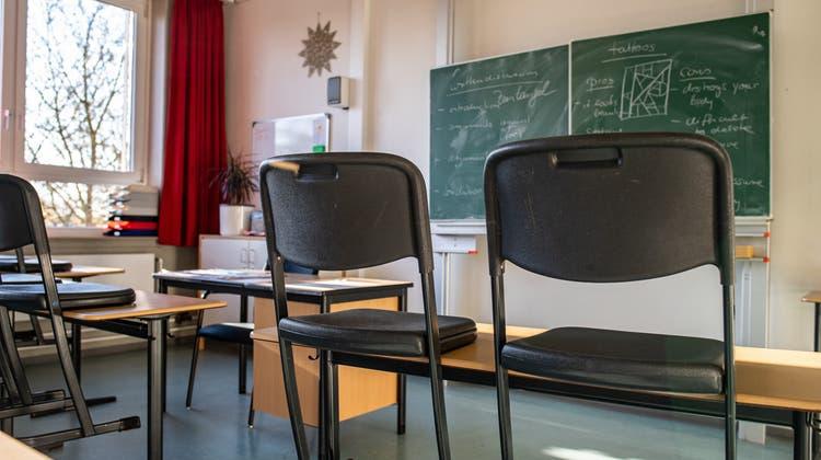 Vorerst gibt es keinen Präsenzunterricht an der Steinerschule in Origlio. (Symbolbild) (Keystone)