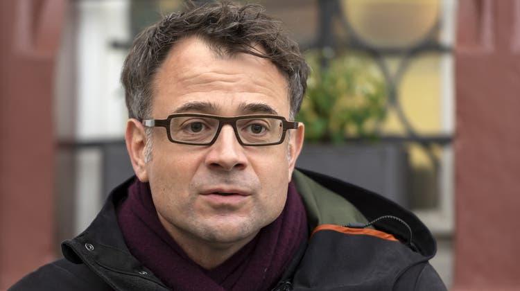 Wirtschafts- und Sozialdirektor Kaspar Sutter. (Georgios Kefalas/ KEYSTONE)