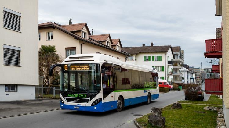 Die Buslinie 16 fährt am Freitag, 17. Januar 2020 durch das Kuonimatt-Quartier in Kriens. Ab Dezember 2021 wird die Buslinie 16 nicht mehr durchs Kuonimatt-Quartier fahren. (Philipp Schmidli / PHILIPP SCHMIDLI | Fotografie)