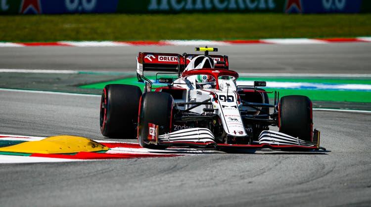 Antonio Giovinazzi erreicht im Qualifying den Q2. Als 14. wird er am Sonntag ins Rennen gehen. (Freshfocus)