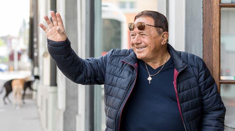 Domenico Zarra hört nach über 40 Jahren in Aarau gesundheitsbedingt auf. (Sandra Ardizzone)